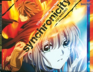 synchronicity single - cover & back