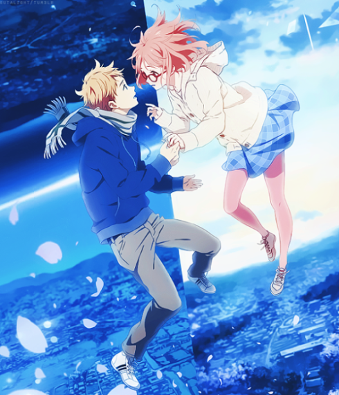 tumblr_njs386xvlr1rl86d1o2_r1_500 - Kyoukai no Kanata Movie: I'll Be Here - Kako-hen [BD-720p] [Sub.Esp] [MG-1F] - Anime no Ligero [Descargas]